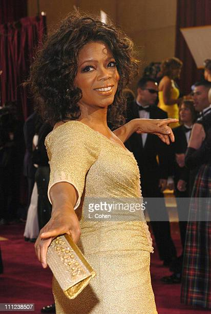 Oprah Winfrey during The 77th Annual Academy Awards Arrivals at Kodak Theatre in Hollywood California United States