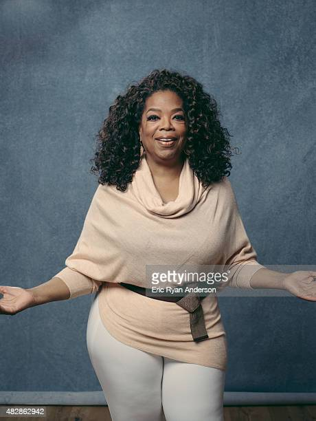Oprah Winfrey is photographed for The Hollywood Reporter on February 18 2015 in Los Angeles California