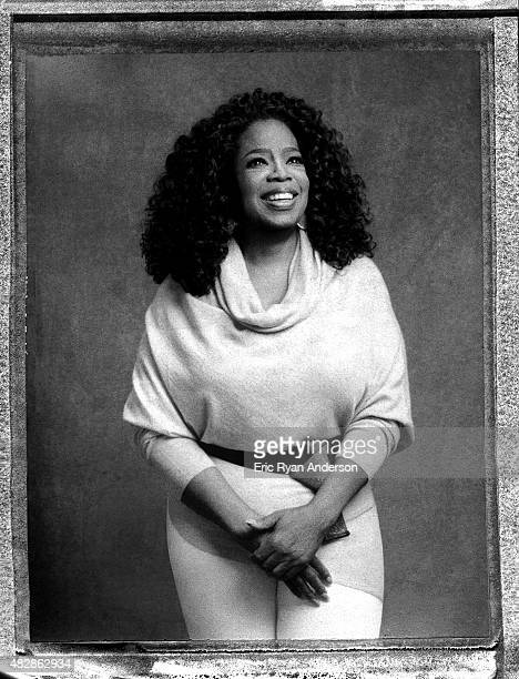 Oprah Winfrey is photographed on polaroid film for The Hollywood Reporter on February 18 2015 in Los Angeles California