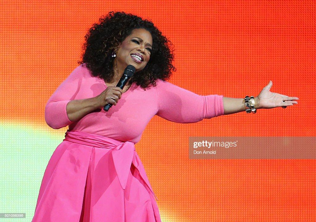 An Evening With Oprah - Sydney : News Photo