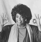 Oprah winfrey smiles and gives the okay sign during her time hosting picture id465073031?s=170x170