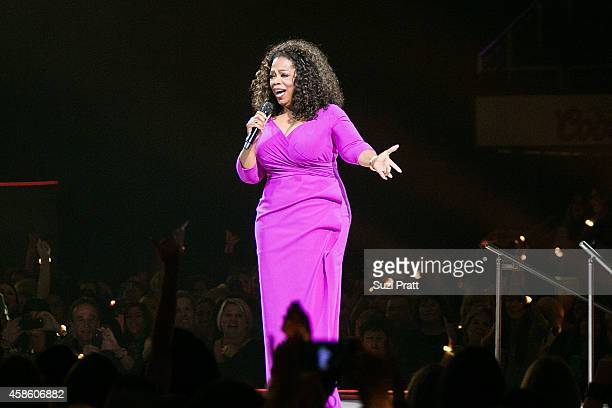 Oprah Winfrey speaks at The Life You Want Weekend on November 7 2014 in Seattle Washington