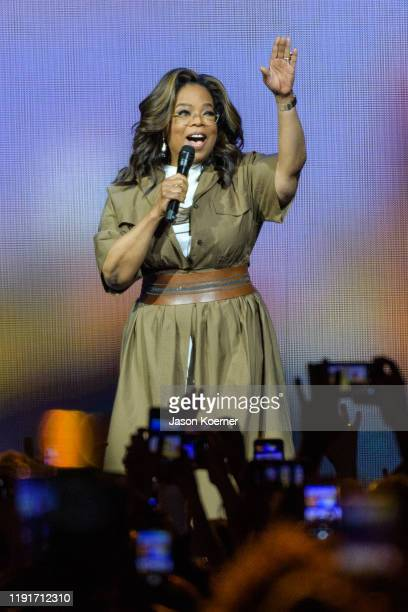 Oprah Winfrey speaks during Oprah's 2020 Vision Your Life in Focus Tour presented by WW at BBT Center on January 4 2020 in Sunrise Florida