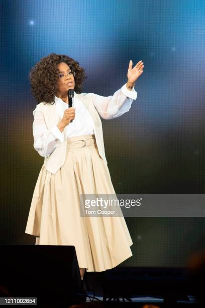 Oprah Winfrey speaks during Oprah's 2020 Vision: Your Life in Focus Tour presented by WW at Pepsi Center on March 07, 2020 in Denver, Colorado.