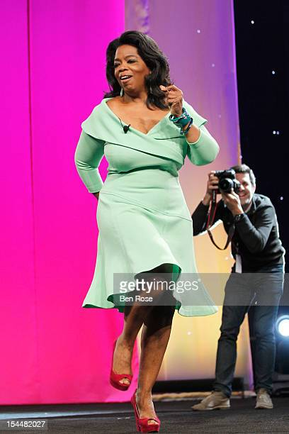 Oprah Winfrey speaks onstage during O You presented by O The Oprah Magazine held at Los Angeles Convention Center on October 20 2012 in Los Angeles...