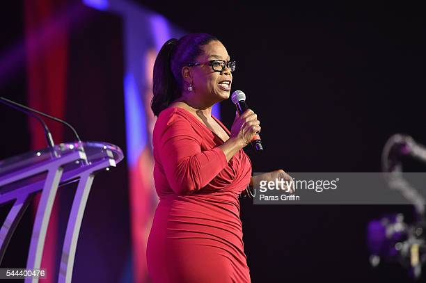 Oprah Winfrey speaks onstage during the 2016 ESSENCE Festival presented By CocaCola at Ernest N Morial Convention Center on July 2 2016 in New...