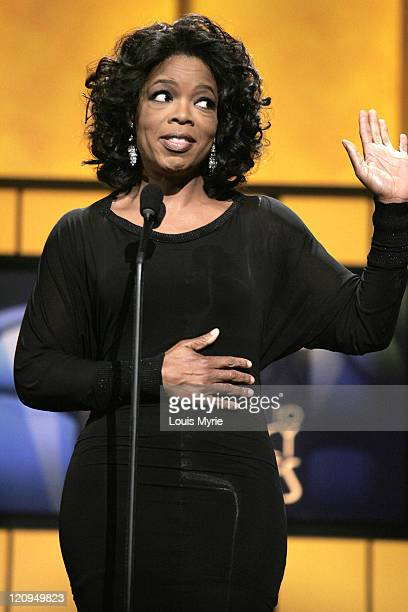 Oprah Winfrey,presenter during The United Negro College Fund Hosts An Evening of Stars Tribute to Quincy Jones - Show in Hollywood, California,...