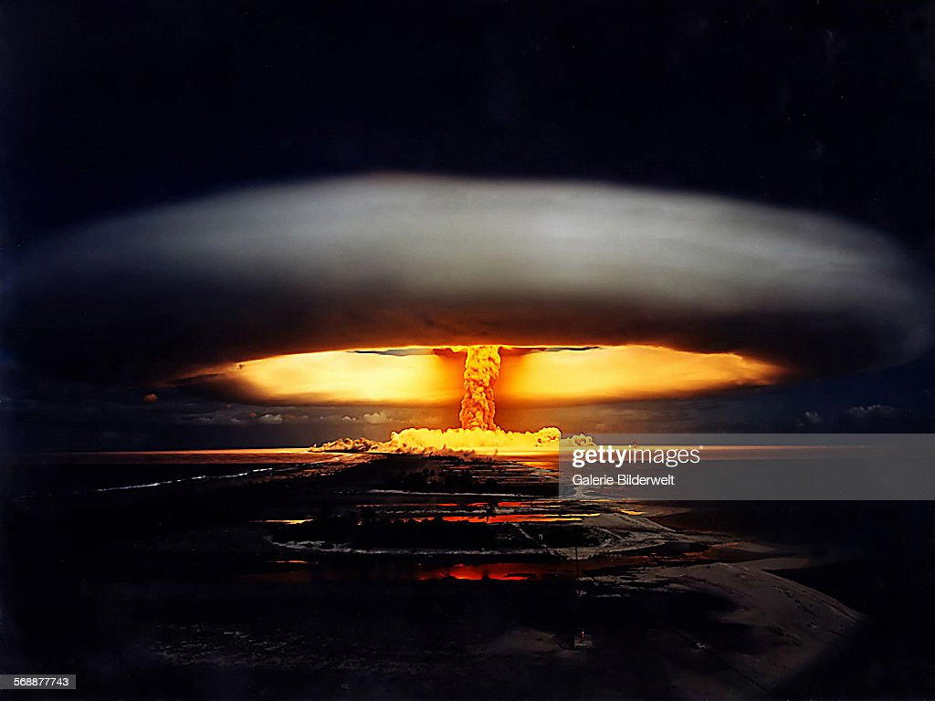 Nuclear Test France : News Photo