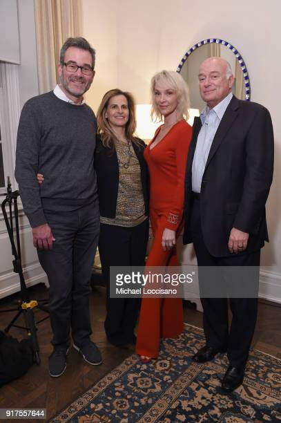 Opry Entertainment President Steve Buchanan Carol Kaplan Lana Krol and John Frankenheimer attend the Country Music Hall Of Fame And Museum Reception...