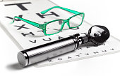during eye sight test opticians tools