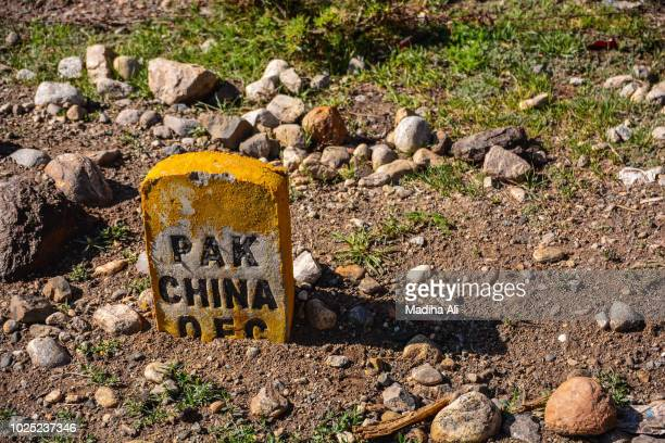 optical fiber cable marker for pakistan china - lying in state stock pictures, royalty-free photos & images