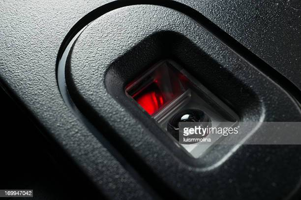 optical mouse - infrared lamp stock photos and pictures