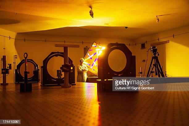 optical research lab - sigrid gombert stockfoto's en -beelden
