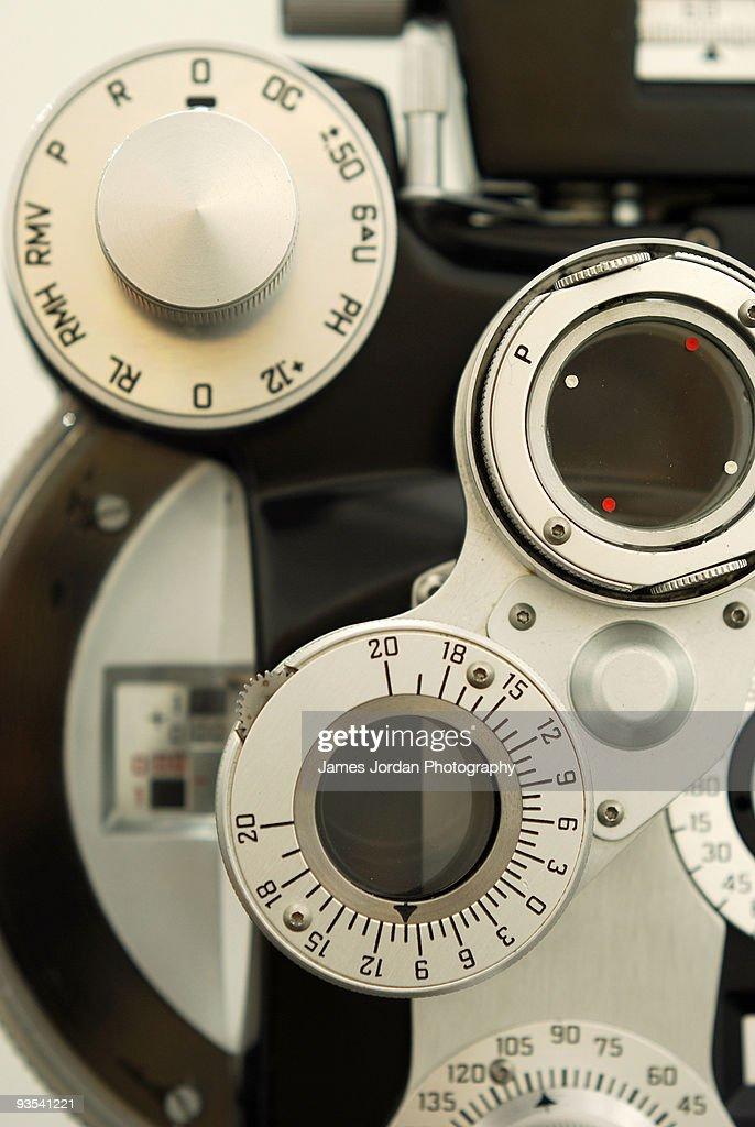 Optometric equipment : Foto de stock