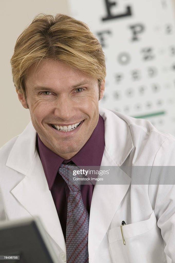 Optometrist : Stockfoto