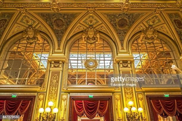 Opulent Decor Inside Monte Carlo Casino Monaco