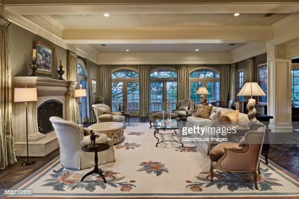Opulent Living Room