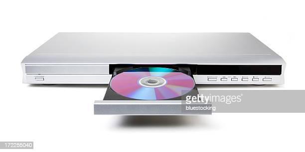 DVD や CD プレーヤー、ディスク