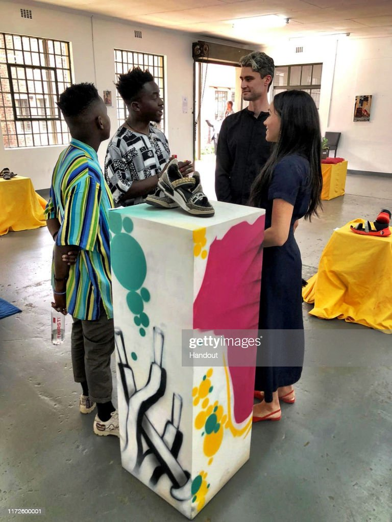 The Duke and Duchess of Sussex Visit South Africa : News Photo