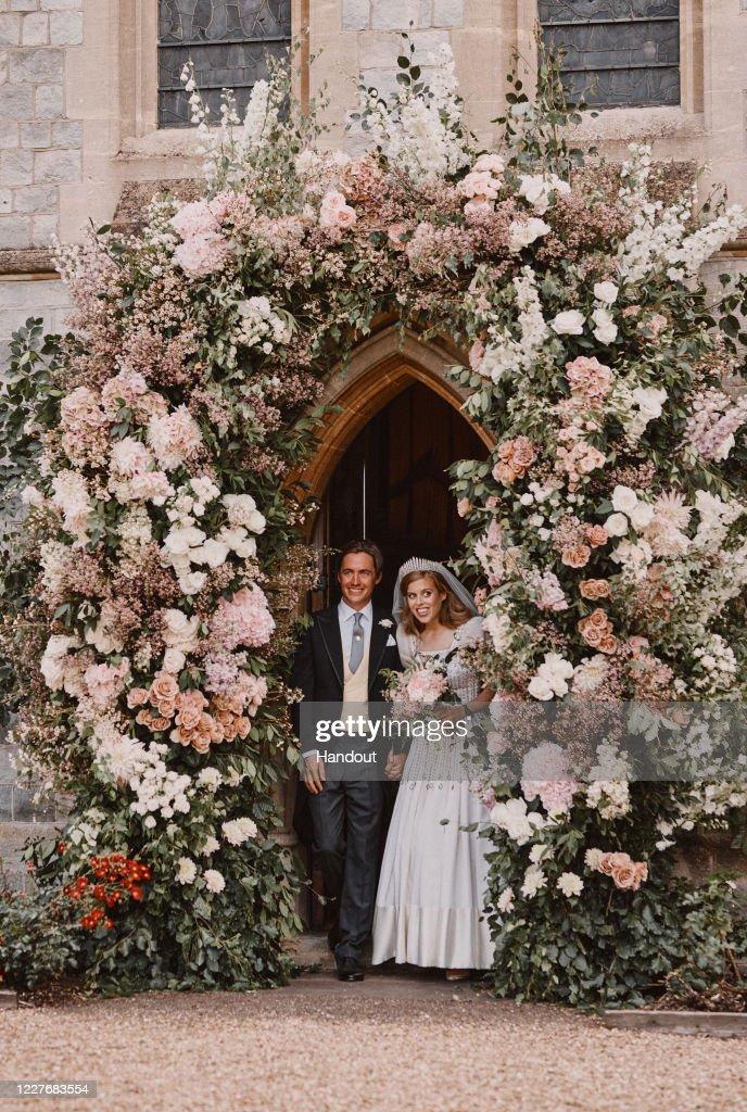 The Wedding Of Princess Beatrice And Mr. Mapelli Mozzi : News Photo