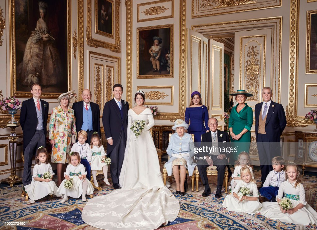 Official Portraits From The Wedding Of Princess Eugenie And Jack Brooksbank : News Photo