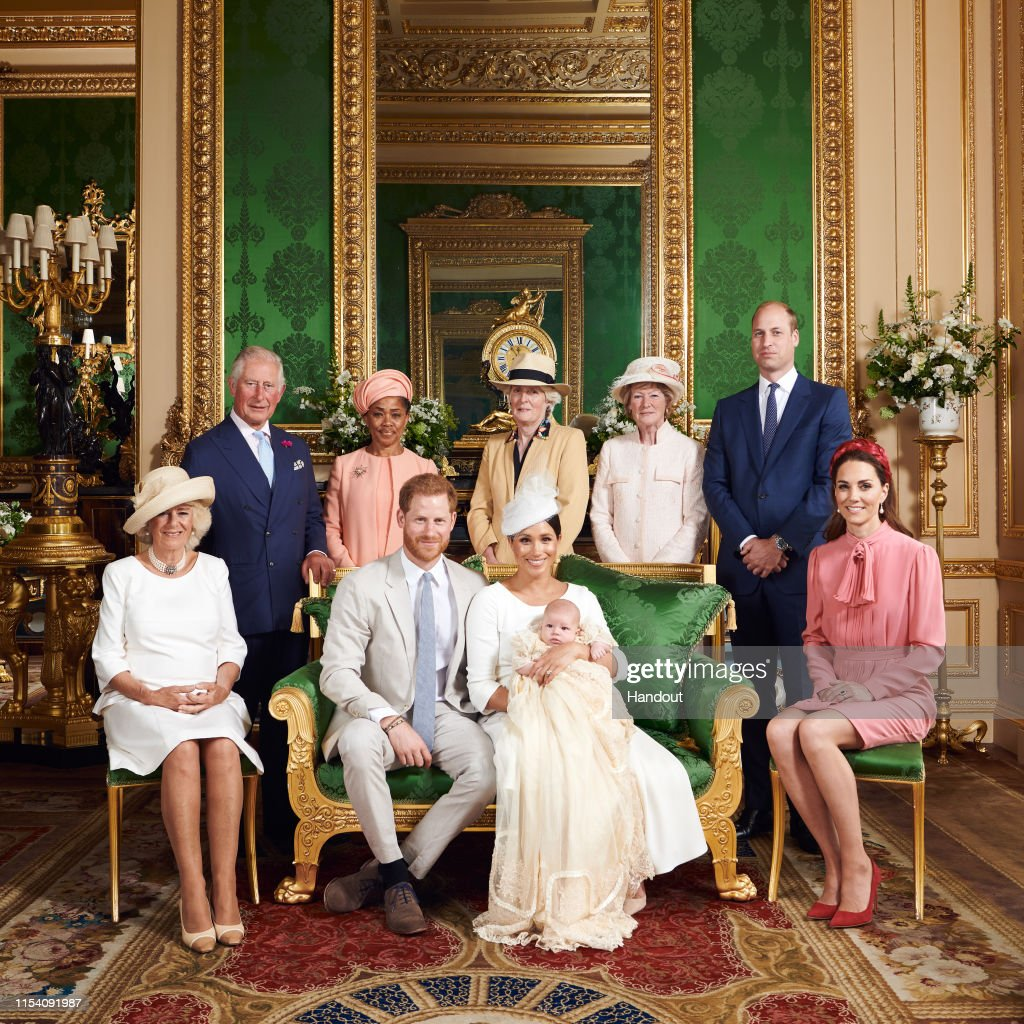 Official Photographs From The Christening Of Archie Harrison Mountbatten-Windsor : News Photo