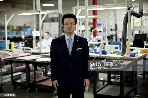 Or Quality Electrodynamics, founder Japanese immigrant Dr. Hiroyuki Fujita, stands in this company's manufacturing floor on February 2, 2012 in...
