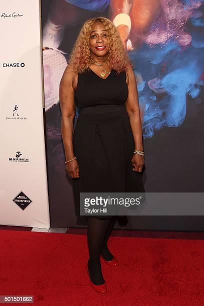 Oracene Price attends the 2015 Sports Illustrated Sportsperson Of The Year Ceremony at Pier Sixty at Chelsea Piers on December 15 2015 in New York...