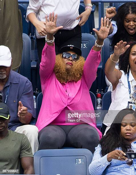 Oracene Price seen at USTA Billie Jean King National Tennis Center on August 30 2016 in the Queens borough of New York City
