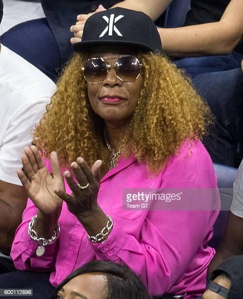 Oracene Price seen at USTA Billie Jean King National Tennis Center on September 7 2016 in the Queens borough of New York City