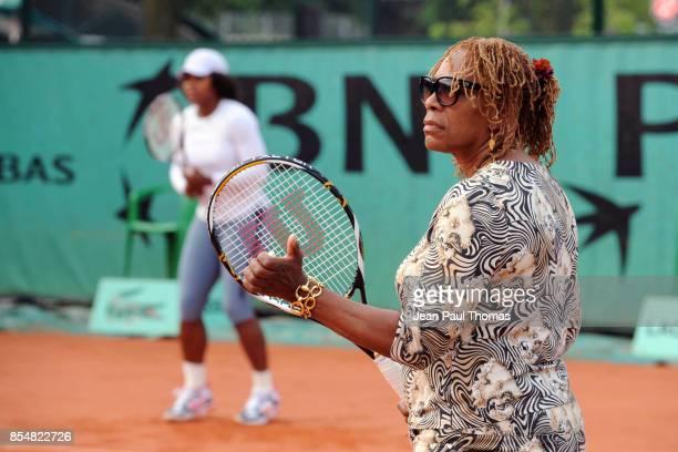 Oracene WILLIAMS / Serena WILLIAMS Roland Garros 2009