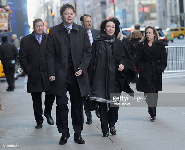 Oracle CEO Safra Catz attends PresidentElect Trump's Roundtable Tech Industry Summit on December 14 2016 in New York City