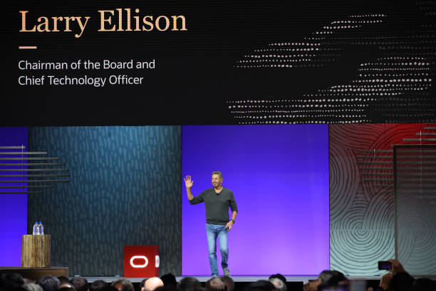 CA: Oracle Founder Larry Ellison And CEO Safra Catz Delivers Keynotes At Oracle OpenWorld