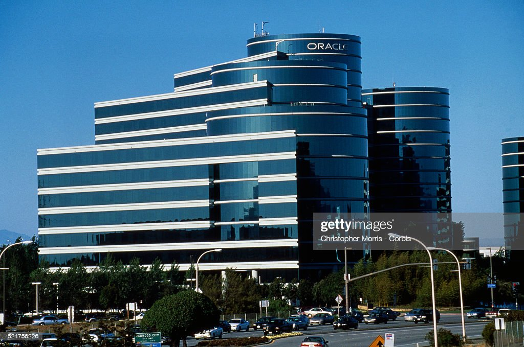Oracle Office Buildings at Silicon Valley Headquarters : News Photo
