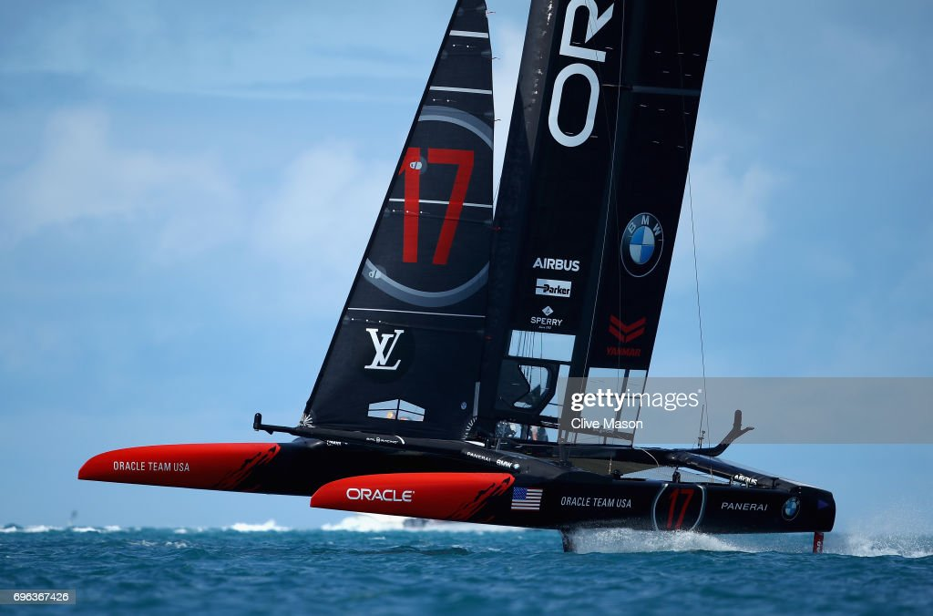 America's Cup Match Presented by Louis Vuitton - Previews : News Photo