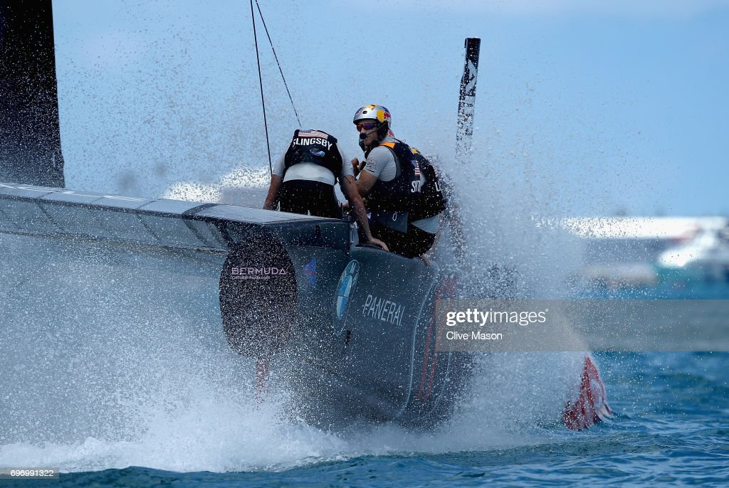 America's Cup Match Presented by Louis Vuitton - Day 1 : News Photo