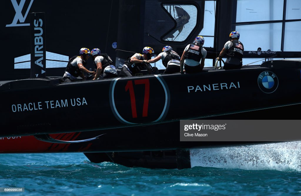 America's Cup Match Presented by Louis Vuitton - Day 1