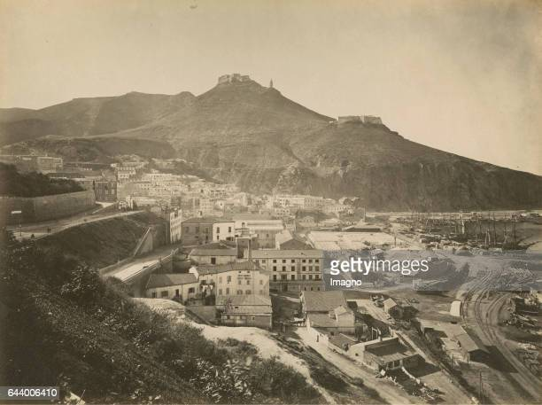 Oran Algeria Journey to Tanger Oran Algér 1890 Albumen print Photograph Photo album from the estate of Empress Elisabeth From the archducal library...