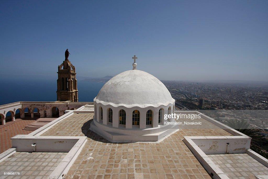 Oran Santa Cruz Chapel : Stock Photo