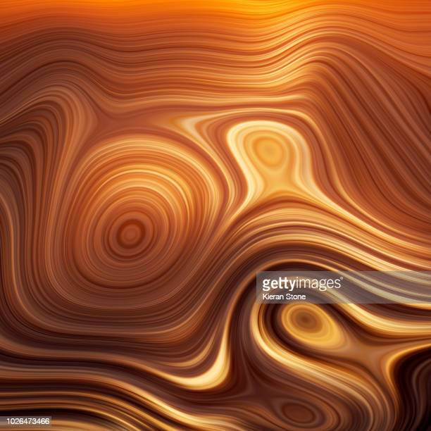 Orange Abstract pattern