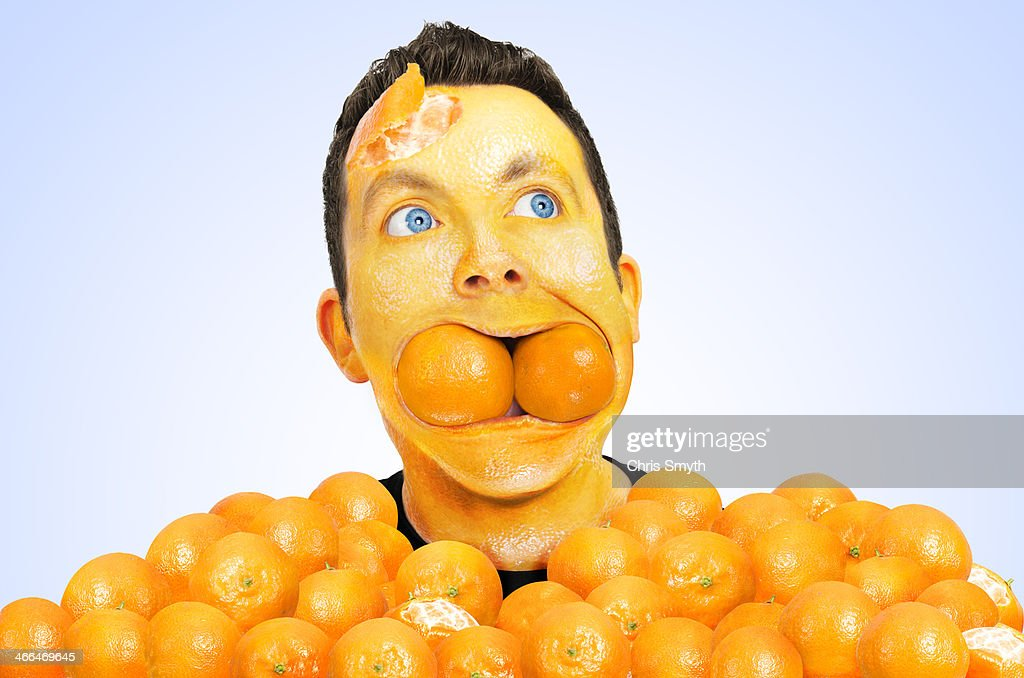 Orange Addiction : Stock Photo