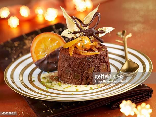 Orange and chocolate Marquise