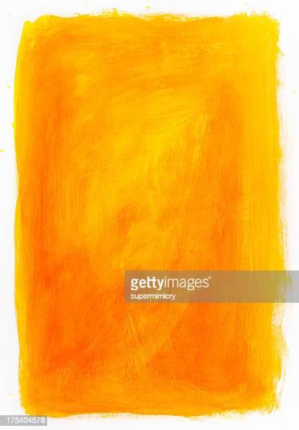 Orange backdrop