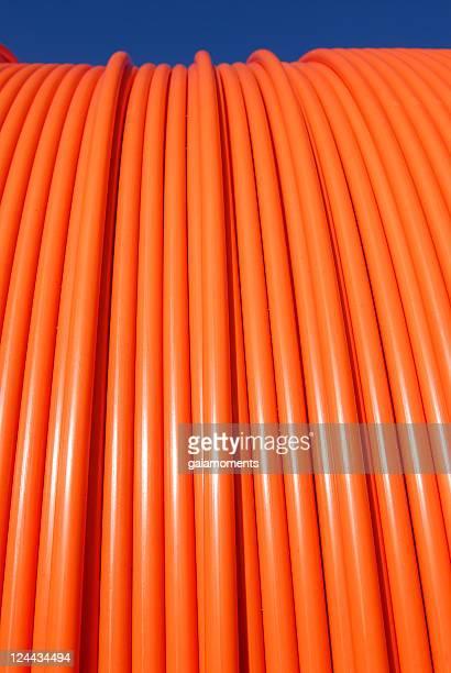 オレンジのケーブル - 束 ストックフォトと画像