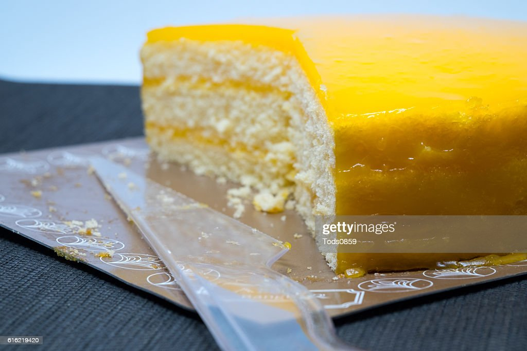 Orange Cake : Stock Photo