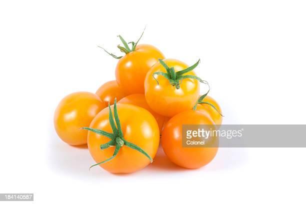 orange cherry tomato variety - cherry tomato stock pictures, royalty-free photos & images