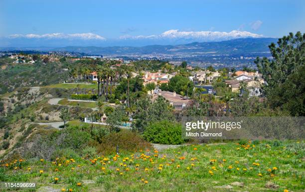 orange county community view - laguna niguel stock pictures, royalty-free photos & images