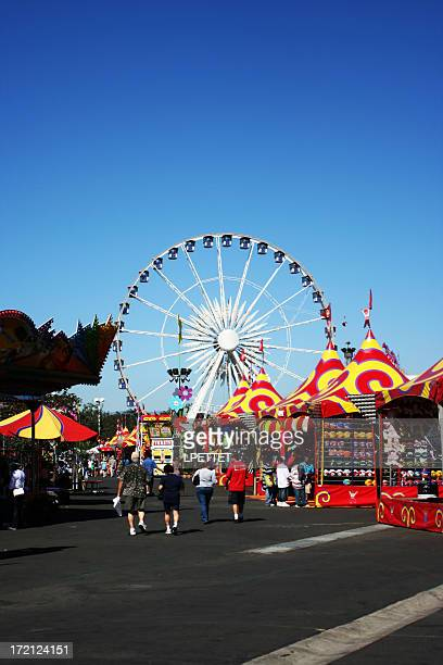 orange county fair - traveling carnival stock pictures, royalty-free photos & images