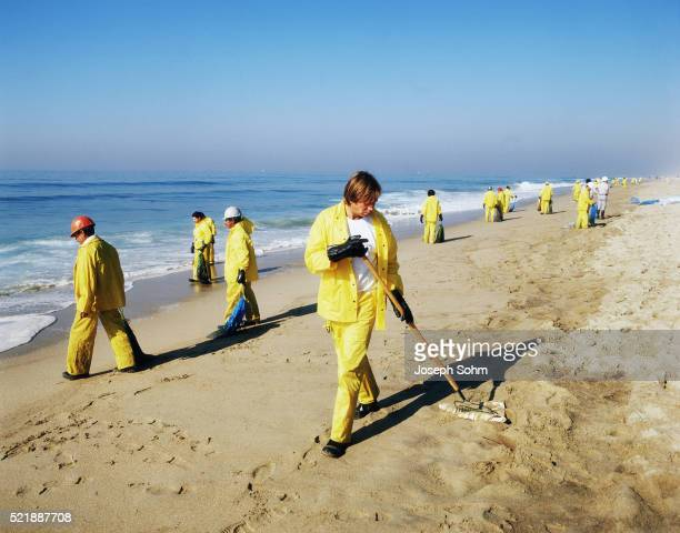 Orange County Oil Spill Cleanup
