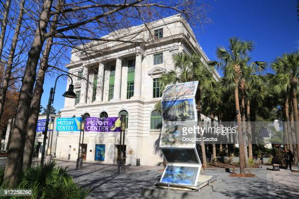 orange county regional history center, orlando, florida, usa - performing arts center stock pictures, royalty-free photos & images